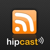 Audio recorded in hipcast